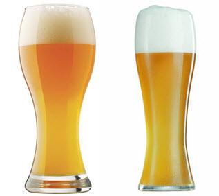 weizen glass beer