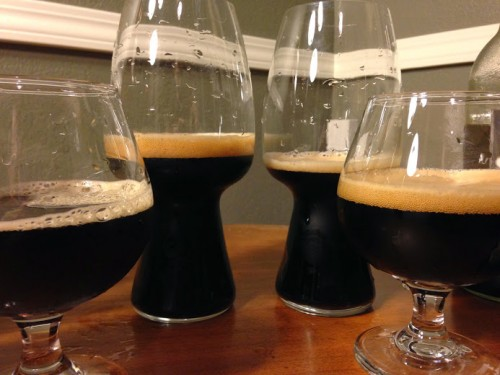 Stout Tasting #1: Samuel Smith's, Rogue, Belhaven, Shipyard