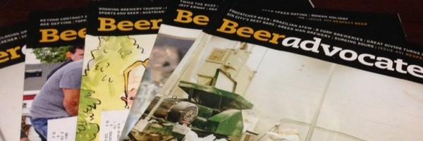 beer advocate magazines