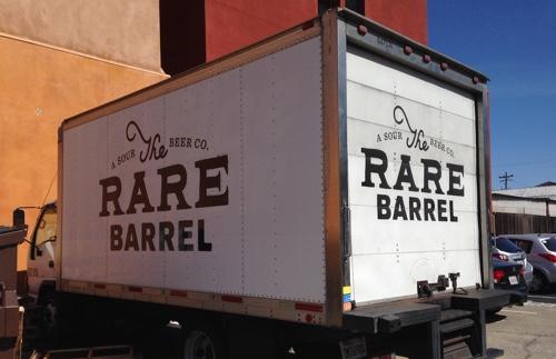 rare barrel truck