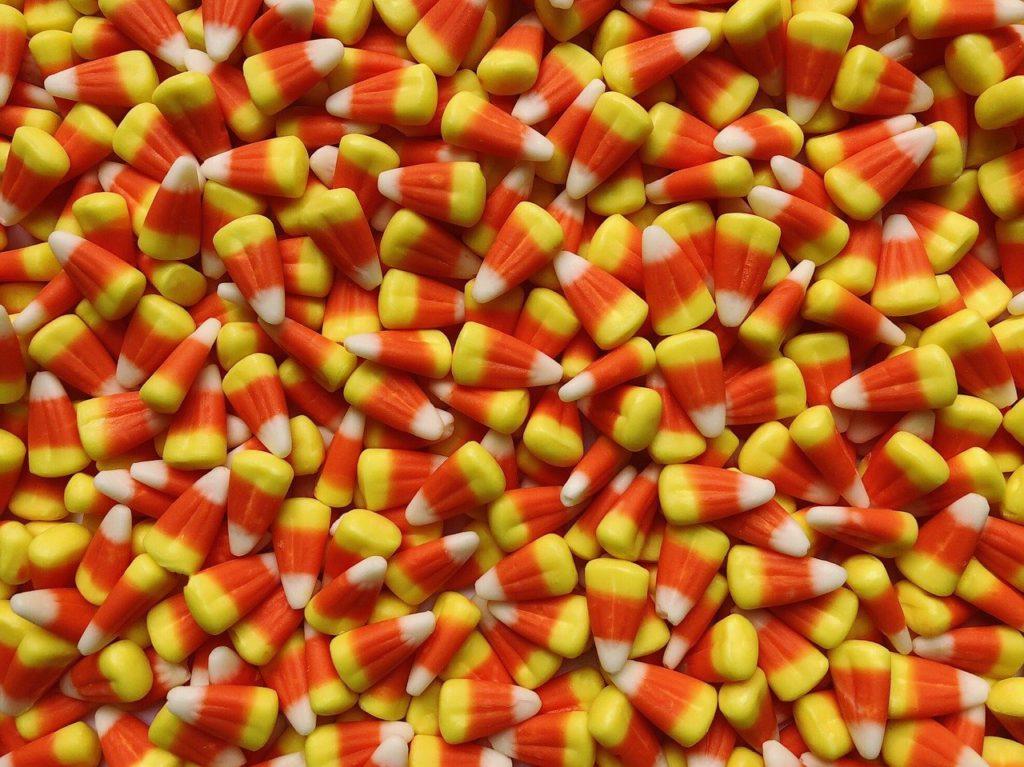 candy corn priming sugar