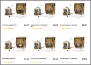 craft a brew kits with gallon carboy jugs