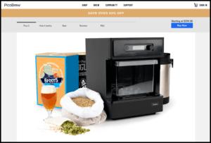 pico model c homebrew machine
